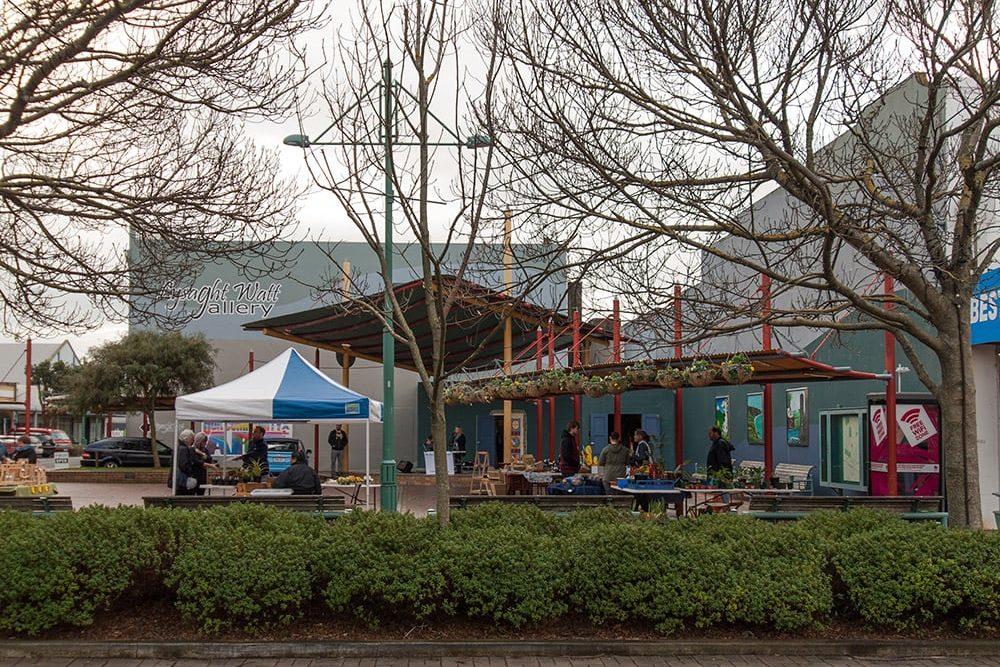 Hawera Town square